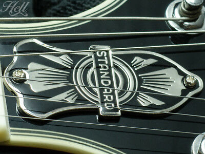 Custom STANDARD Brass 2-hole Truss Rod Cover. Fit most Gibson, Les Paul, SG more
