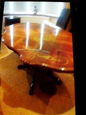 Reproduction Style Dark Wood Table