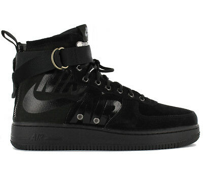 super popular f6db5 f3485 Nike Sf Air Force 1 Mid Af1 Sneakers Uomo Boots Scarpe Stivali 917753-008  Nuovo