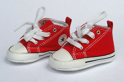 Converse Chuck Taylor First Star, 88875 rot, Baby Sneakers Gr. 17 in Box, NEU!