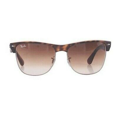 NEW RAY BAN Sunglasses CLUBMASTER OVERSIZED RB 4175 878 51 Brown ... ae23bf34ff4