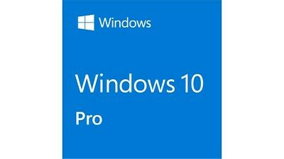 Windows 10 Pro Professional 32/64 Bit Licenza Microsoft Chiave Originale ESD
