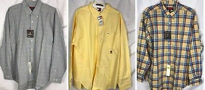 72cc6125f95d6 Lot 3 Mens XL Long Sleeve Button Downs Austin Reed Plaids Tommy Hilfiger NOS
