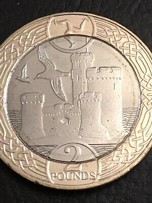 New Isle of Man Tower of Refuge £2 Two Pound Coin Uncirculated Rare