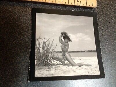 1104 Bettie Page Original Photo By Bunny Yeager Pin Up Contact Image