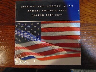 2008 U.S. Mint Annual Uncirculated Dollar Coin Set