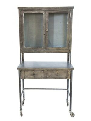 Medical Refinished Pressed And Folded Steel Medical Cabinet With Sliding Drawers