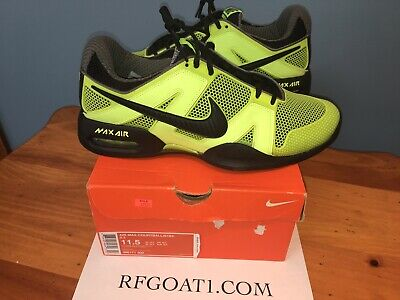 sale retailer 71d6c 6983a Nike Air Max Courtballistec 2.3 Limited Lime Green 2010 US Open Rafa Nadal  11.5