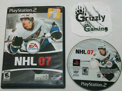 USED EA Sports NHL 07 Sony PlayStation 2 (NTSC) Canadian Seller