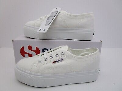 8be3a7ce247 SUPERGA 2790 ACOTW Linea Up and Down White EU Size 37.5 Women s Size ...