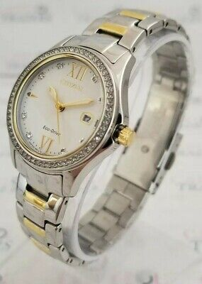 Citizen FE1144-85B Women's 32mm Quartz Stainless Steel Two-Tone Watch SHIPS FREE