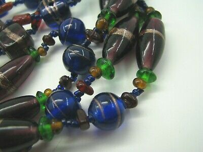 Beads & Jewelry Making The Best 12 Turquoise Blue 15 X12 Mm Wedding Cake Lampwork Glass Beads Vn36