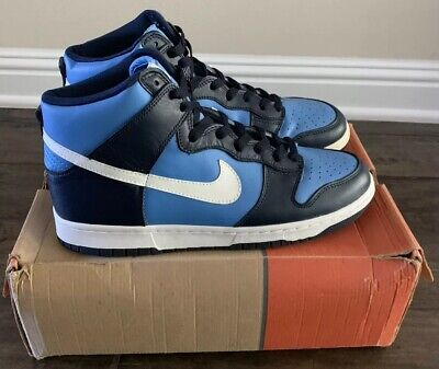 07ec076ce6de RARE 1999 NIKE Dunk High Carolina Blue   Navy (DS With Box