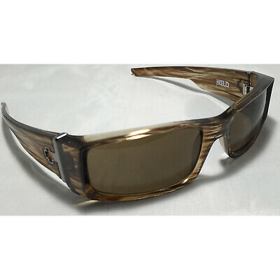 8162c42aee SPY OPTIC HIELO Sunglasses Tortoise Brown Bronze Smoke Lens NEW ...