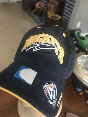 6d6aa99adc4 University of Toledo Rockets Baseball Hat NWT Top of the World Stitched (8)