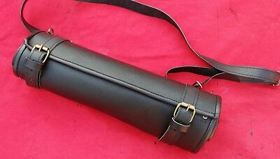 Deluxe Leather Lightweight Knife Chef Roll/ Chef Bag Professional Free P&p (Uk)