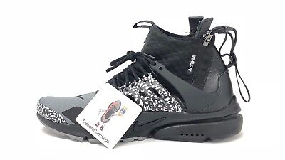 wholesale dealer 12b73 d7247 ACRONYM x Nike Air Presto Mid Grey Black   AH7832-001 UK6   US7.