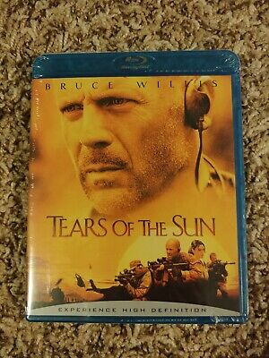 NEW Tears of the Sun (Blu-ray Disc, 2006) AUTHENTIC Region A USA SEALED