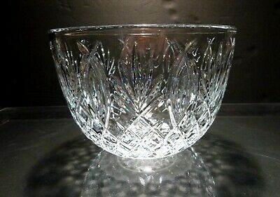 """*EXCELLENT* Waterford Crystal GRANVILLE / PINEAPPLE Punch Bowl  8 3/8"""""""