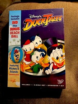 Ducktales - Volume 1 (DVD, 2005, 3-Disc Set) Factory Sealed Brand New!