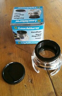 Lighthouse Standing Magnifier Loupe Glass - 6 X Magnification + free sample