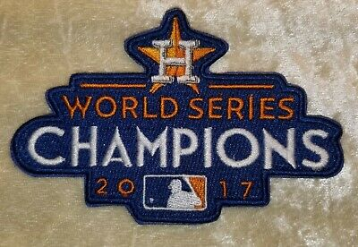181648bc Houston Astros 2017 World Series Champions Iron /Sew On Embroidered Patch~