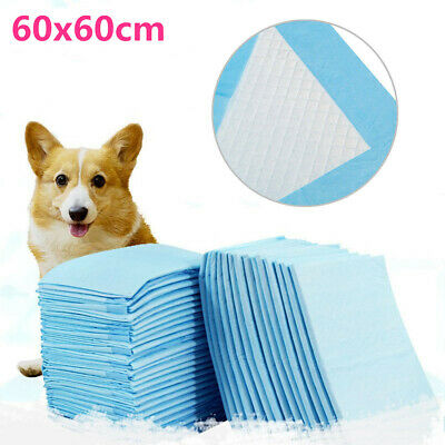 Puppy Pet Dog Cat Indoor Toilet Training Pad Absorbent 50/100/150/200/300/400Pcs