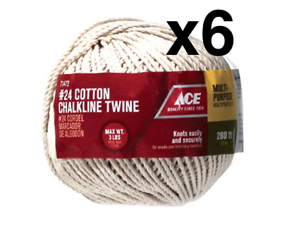 12 CRAB TRAP CHUM POT ROLL 40 FOOT SUPER STRONG POLYESTER BRAID CORD STRING LINE