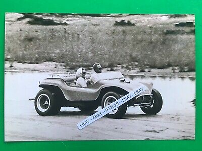 Found 4x6 Photo Of Steve Mcqueen On Motor Scooter Cushman Or