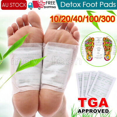 Premium Detox Foot Patch Pad Natural Plant Toxin Removal 10-300 Sticky Adhesives