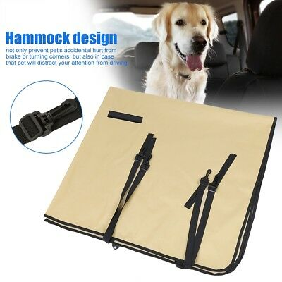 Dog Car Seat Cover Waterproof Hammock for Cat Pet SUV Van Back Rear Bench HL
