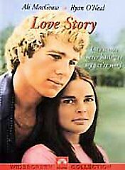 Love Story (DVD, 2001, Widescreen) Ryan O'Neal / Ali MacGraw -Brand New!