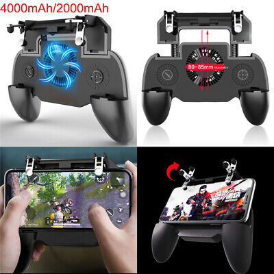 Mobile Phone Gaming Controller Joystick Cooling Fan Gamepad Game Handle for PUBG