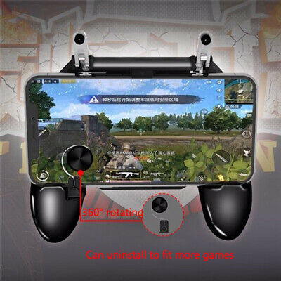 Mobile Wireless W11+ Gamepad Remote Controller Joystick fit for PUBG Android IOS