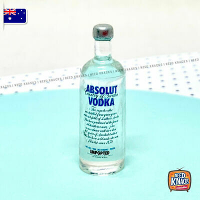 Mini Collectables - Absolute Vodka Bottle | Add to your Coles Little Shop Set!