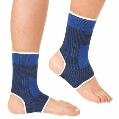 852770d729 Ankle Compression Sleeve Foot Support Brace Pain Relief Support Sport Wrap  US