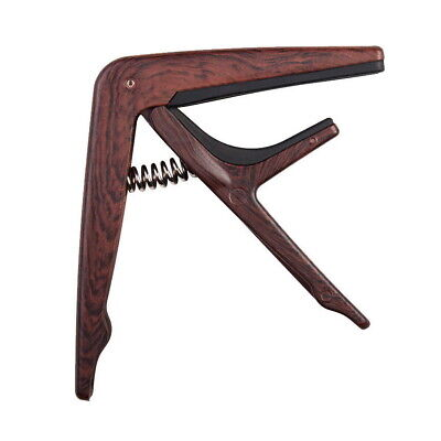 Joyo JCP01 Capo for Steel String Acoustic or Electric Guitar-Wood Look - New AU