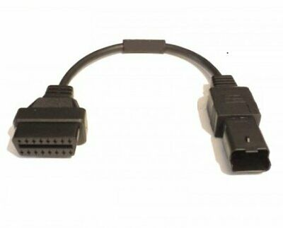 DUCATI Diagnostic 4 pin OBD2 connector for Panigale Multistrada Diavel Monster