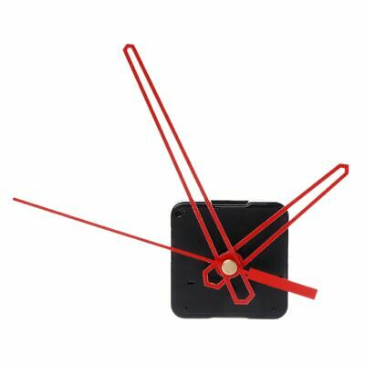DIY Wall Quartz Clock Movement Mechanism Red Hands Repair Tools Kit