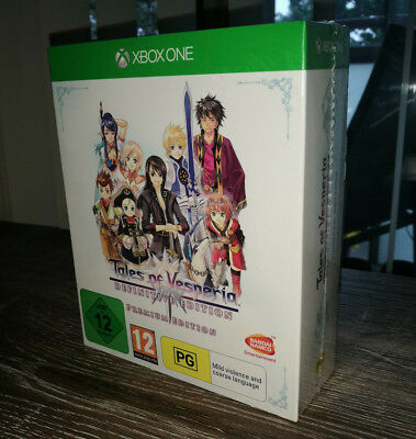 Tales of Vesperia Definitive Premium Edition (Microsoft Xbox One, 2019) New