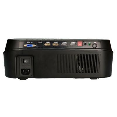"5.8"" 3500Lumens HD LED Projector Media Home Outdoor Cinema HDMI USB 1080P VGA"