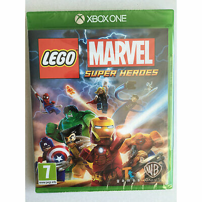LEGO Marvel Super Heroes (Xbox One) New and Sealed