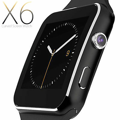 SMARTWATCH OROLOGIO iPhone ANDROID per Samsung Galaxy S10, S10 + NERO