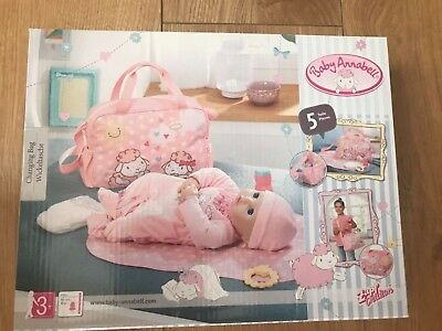 Baby Annabell Deluxe Changing Bag Brand New