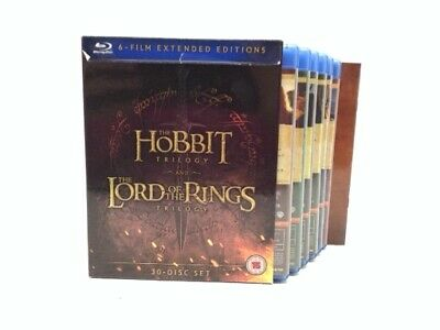 Coleccionismo Dvd The Hobbit Trilogy And The Lord Of The Rings Trilo 863447