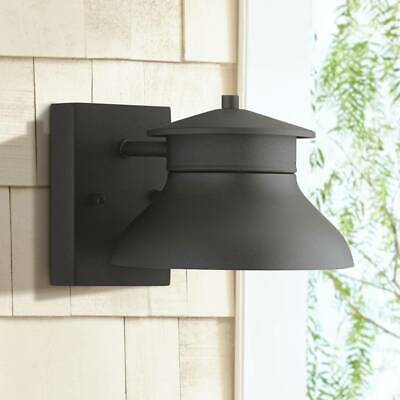 Modern Outdoor Wall Light Fixture Led Black 5 Dark Sky For