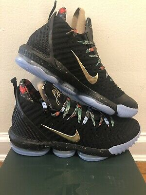 daacda81857 NIKE LEBRON XVI 16 Watch The Throne Ci1518-001 Shoe Mens Size 12 New ...