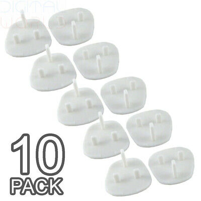 Baby Proofing Child's Home Safety Socket Covers Protectors Guards (10 Packs)
