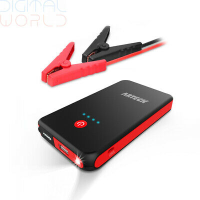 Arteck Car Jump Starter Auto Battery Charger and 8000mAh External Battery Car