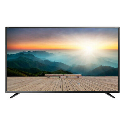 "Sharp Black 32"" Inch HD Ready LED TV Dolby Digital with Freeview HD and USB PVR"